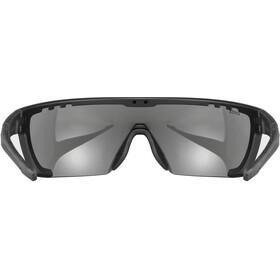 UVEX Sportstyle 707 Occhiali, black matt/mirror silver